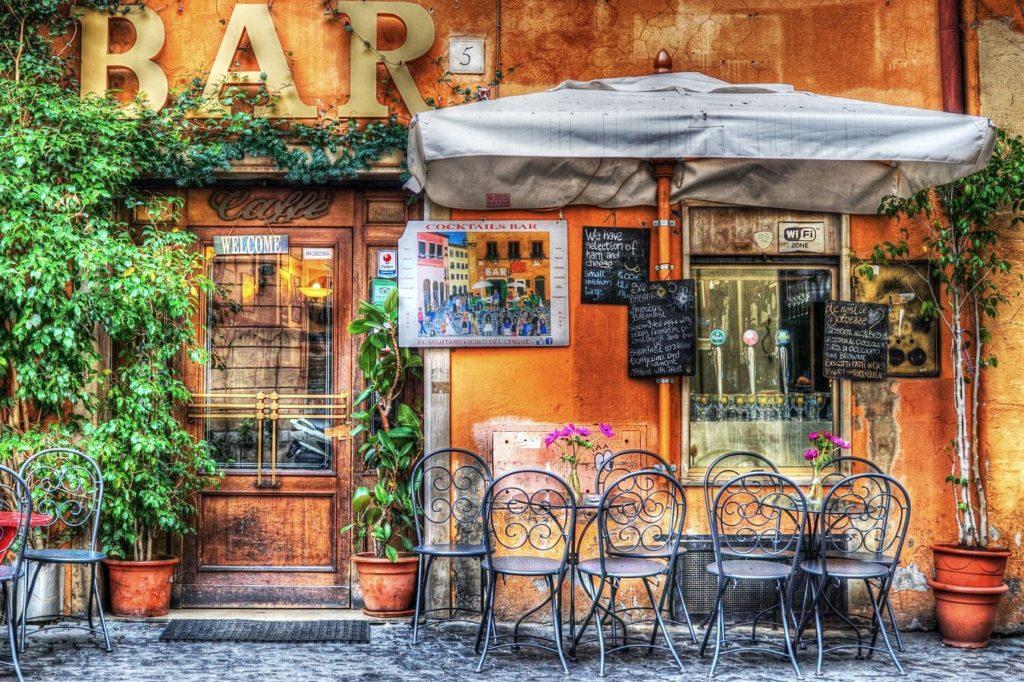 Bar in Rome