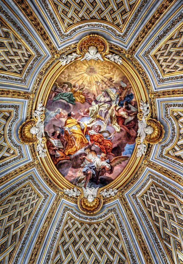 Church ceiling, Rome