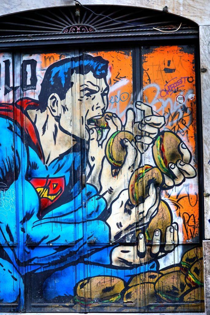Graffiti, rome