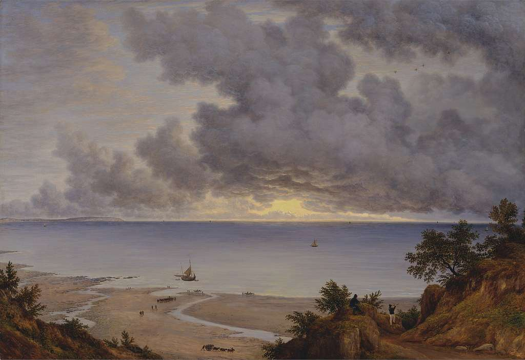 John Glover - Sandown Bay, from near Shanklin Chine, Isle of Wight - Google Art Project