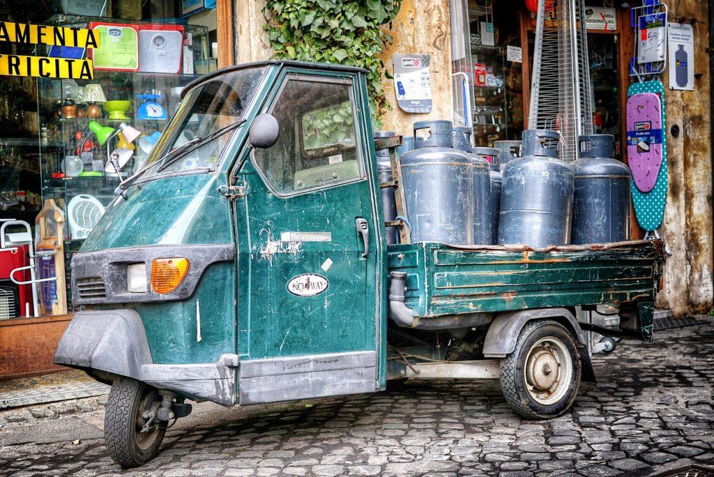 Propane vendor, Rome