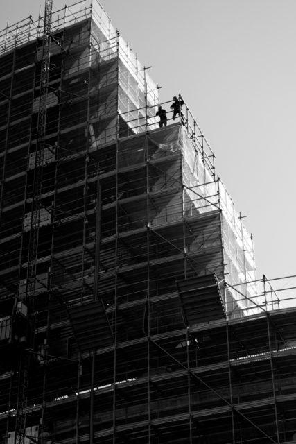 Rome Coliseum Construction Works