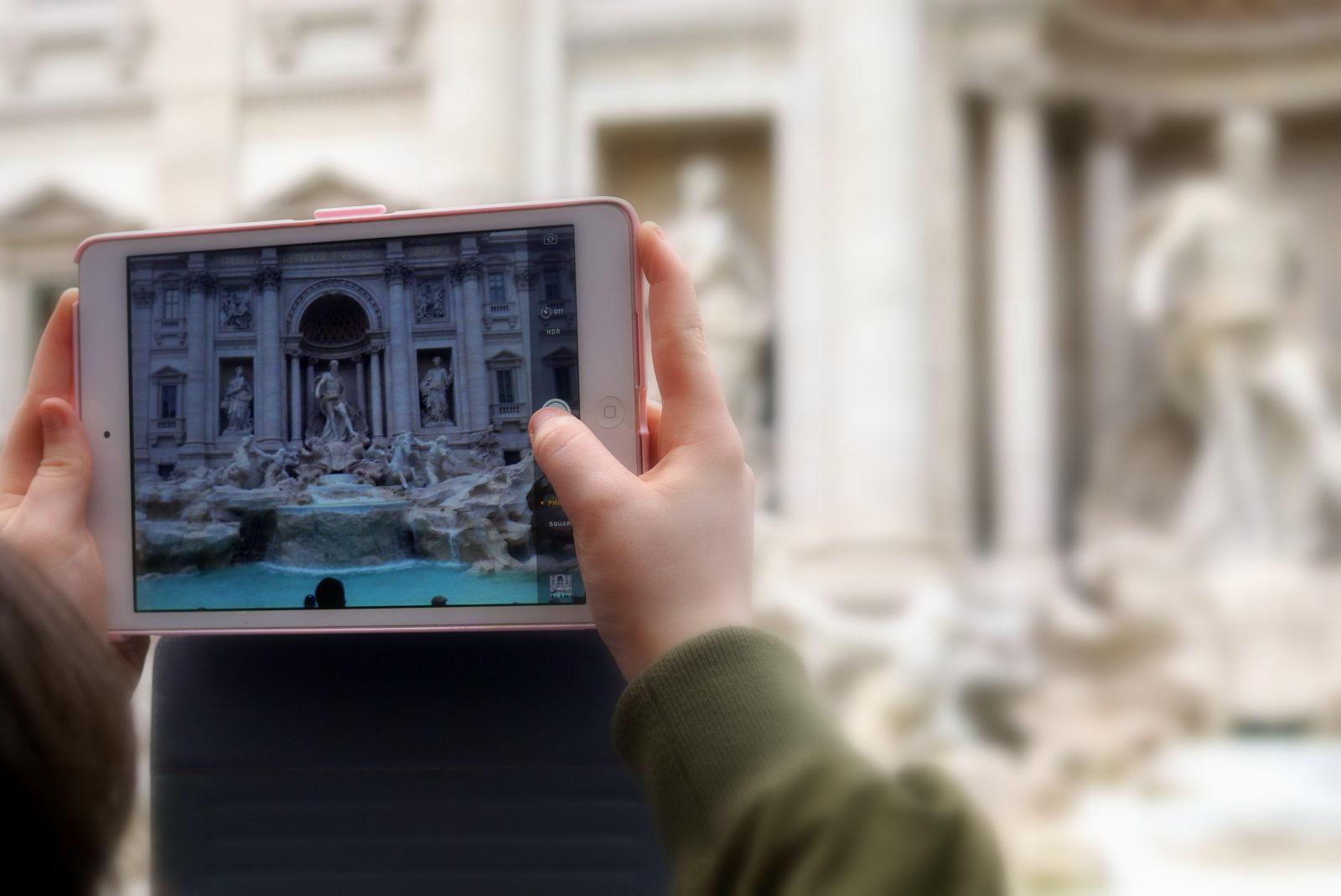 Rome Neptune Fontain