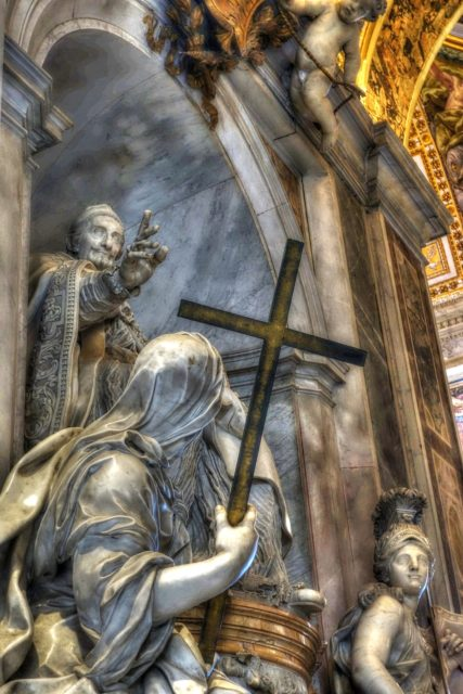 St.Peter Basilica Sculptures, Rome