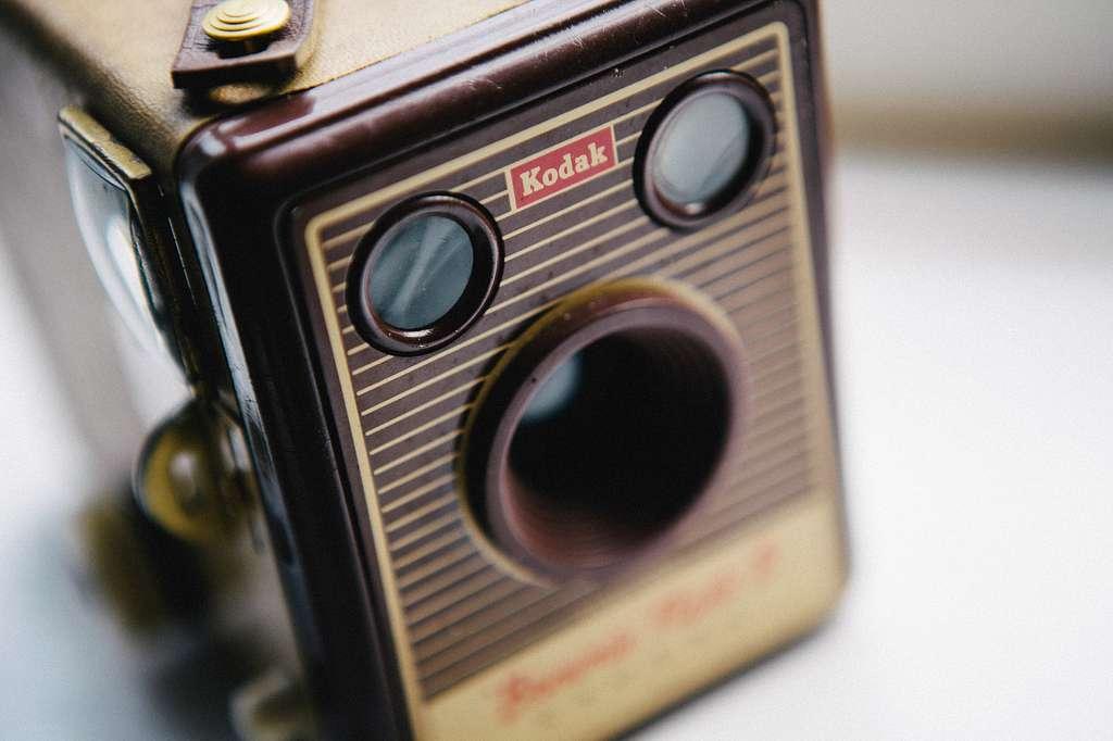 Vintage kodak camera.