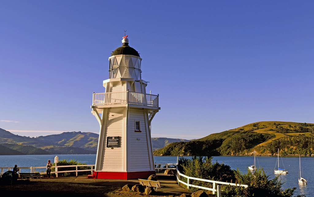 Historic Akaroa Lighthouse.