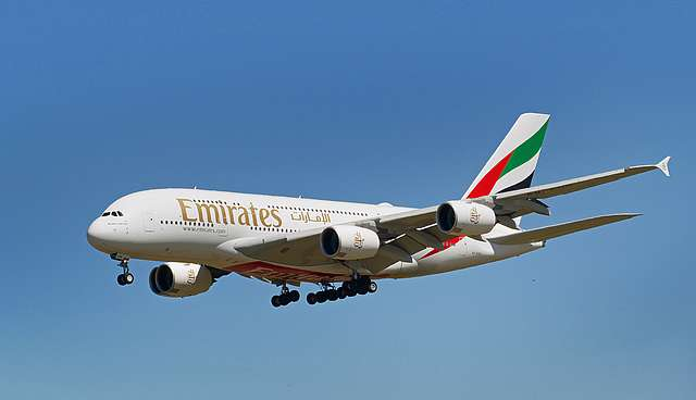 A6-EUH Emirates Airbus A380-861