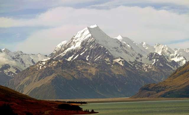 Aoraki / Mount Cook.