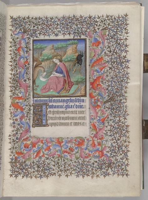 John on Patmos (HM 1100)