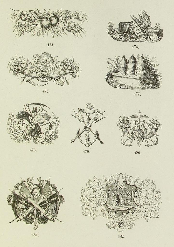 Schrift- und Polytypen-Proben BG Teubner, 1846 n
