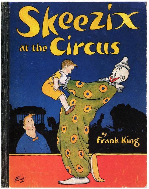 Skeezix at the Circus