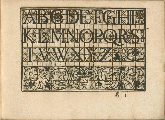 Vinciolo Alphabet