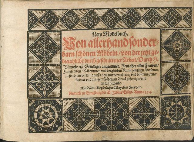 Vinciolo Titlepage