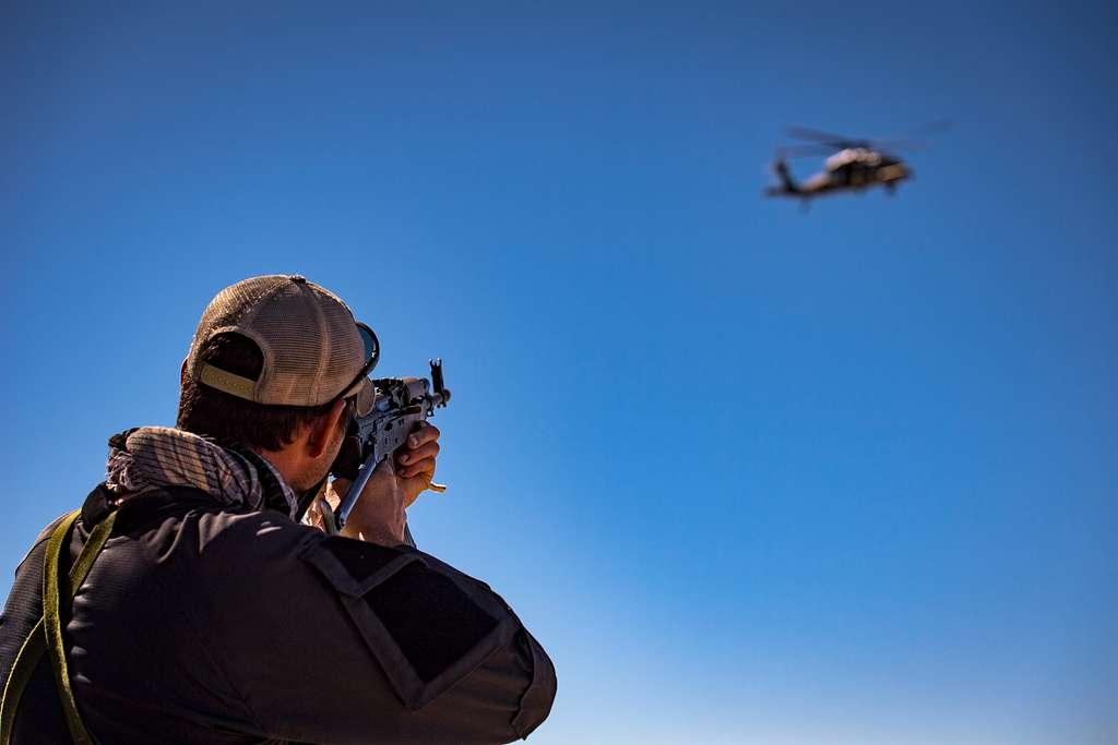 U.S. Air Force Tech. Sgt. Mykal Sequeria, a 563d Operations