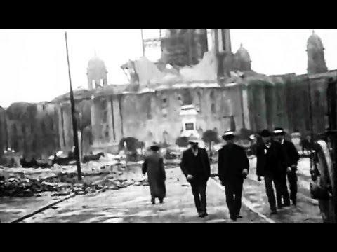 "1906 San Francisco Earthquake Damage: ""Riding Down Market Street"" 1906 Prelinger Archives"