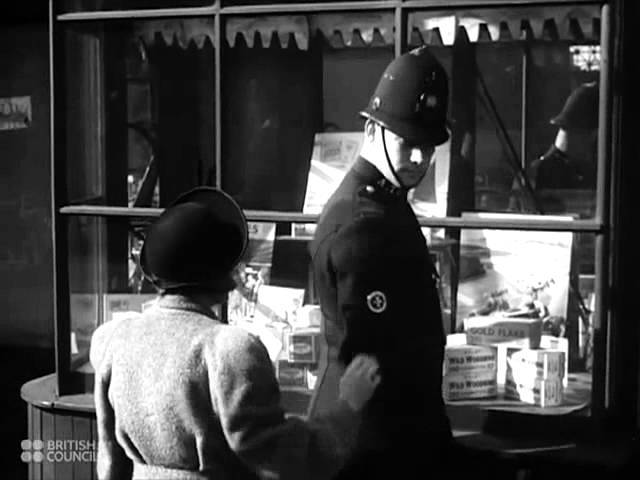 Man On The Beat / The Police - 1945 British Council Film Collection - CharlieDeanArchives