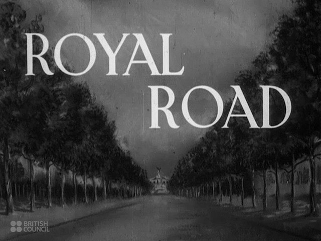 Royal Road - 1941 British Royalty / Social Guidance / Educational Documentary  - Val73TV