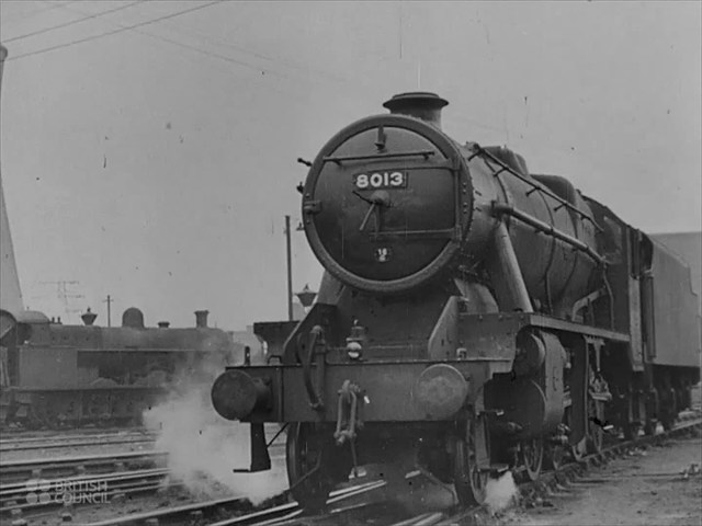 Trains: Building A Steam Locomotive - 1941 - CharlieDeanArchives / British Council Archival Footage