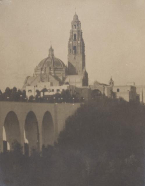 California Tower, looking east  (Panama-California Exposition)