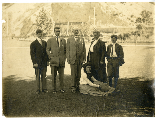 "Charles Doolittle Walcott (1850-1927) family at ""Olmsted,"" Provo, Utah"