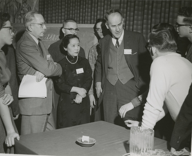 Chien-shiung Wu (1912-1997), Dr. Brode, and Science Talent Search Winners