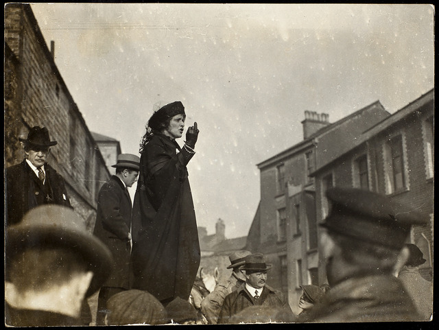 Lady Astor's Election Campaign, 1919.