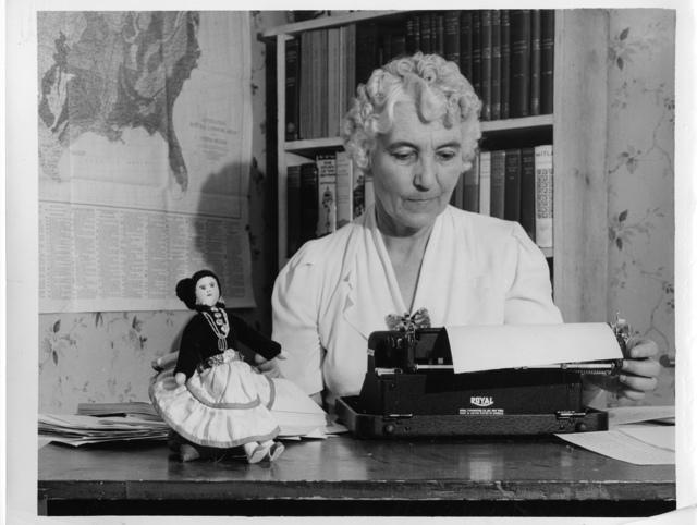 Ruth Murray Underhill (1883-1984)