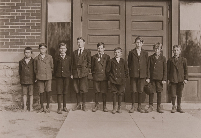 School No. 9 and 12, Marion, Ind October