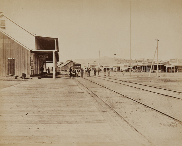 Untitled (Railway depot and stage post)