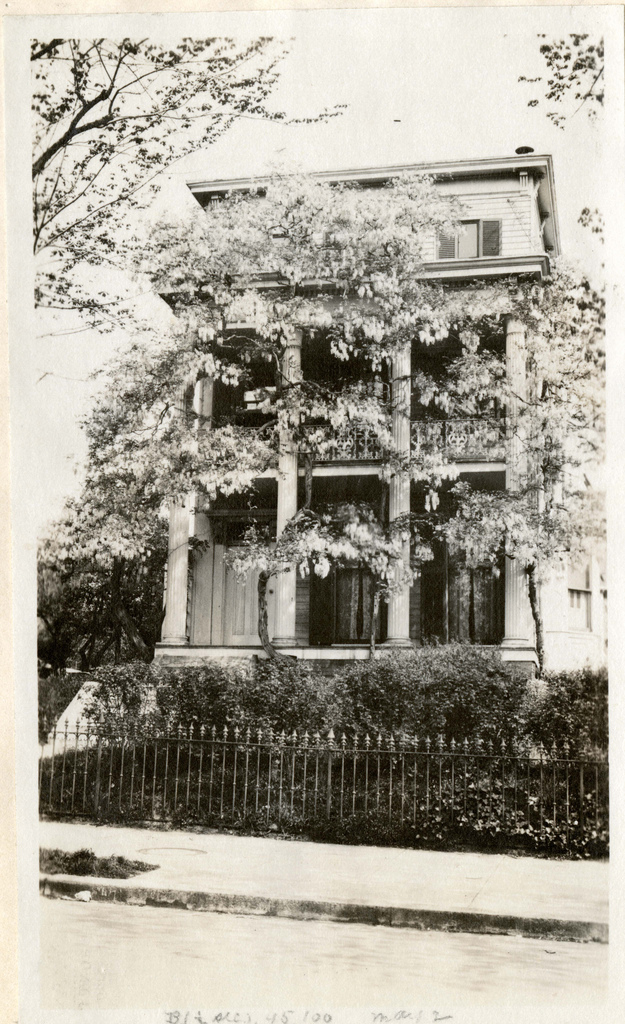 Wisteria House on the NW corner of Massachusetts Avenue and Eleventh Street, NW, Washington, DC, (razed 1924)