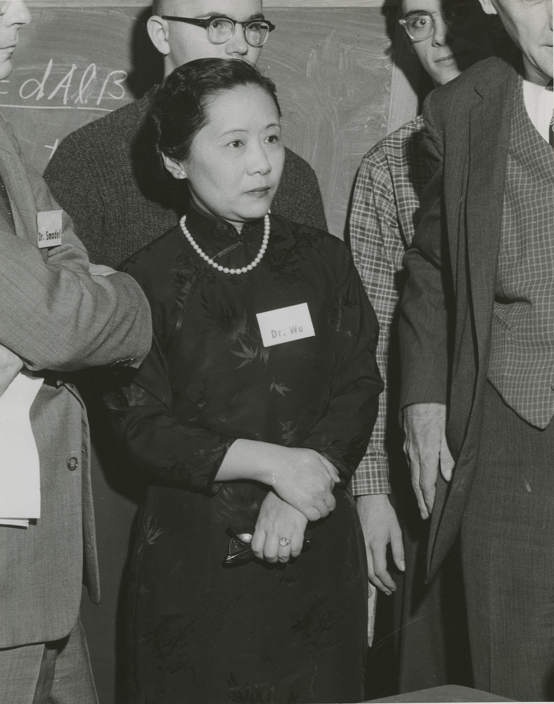 the life and works of chien shiung wu Students will learn about the life and work of nuclear physicist chien-shiung wu and explore the trend of scientists becoming public figures and activists.