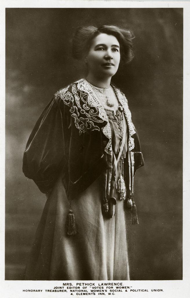 Lawrence, Emmeline Pethick-1907-1912