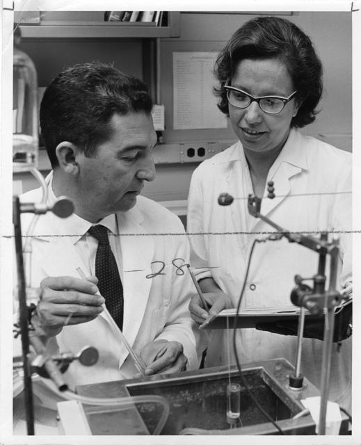 left to right: José Leal Prado and Eline S. Prado