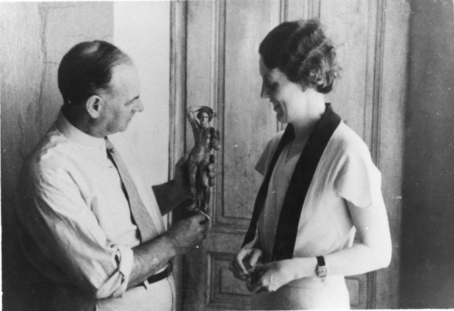 left to right: Theodore Leslie Shear (1880-1945) and Josephine Platner Shear
