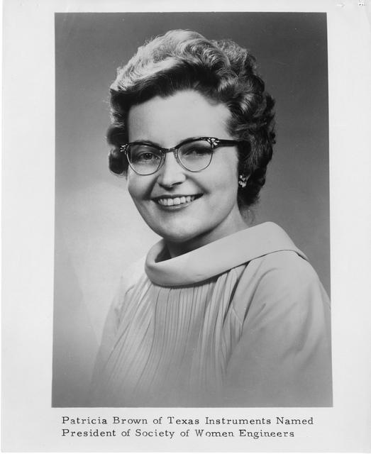 Patricia Brown (b. 1928)