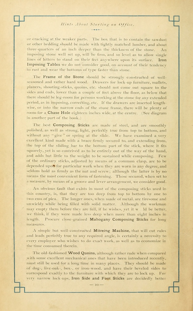 Harpel's typograph : or Book of specimens