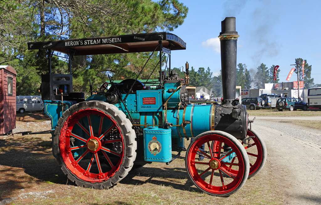 Foster Traction Engine.