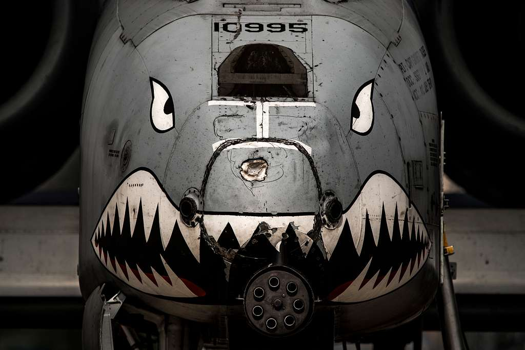 An A-10C Thunderbolt II aircraft from the 75th Fighter