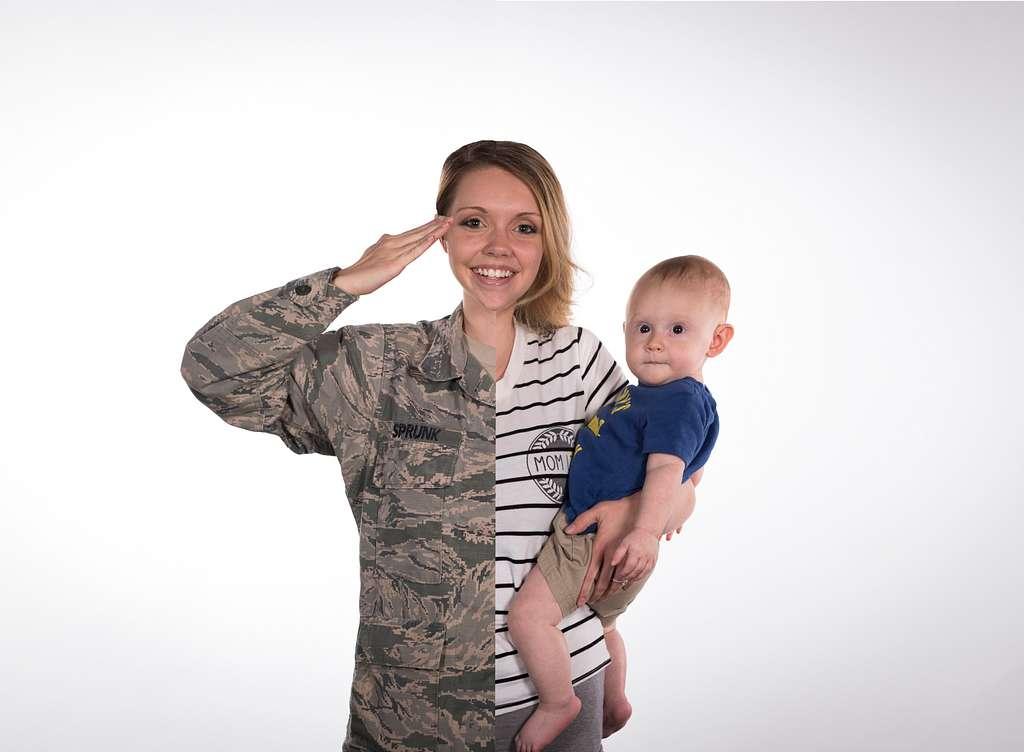 Full-time mom, full-time Airman