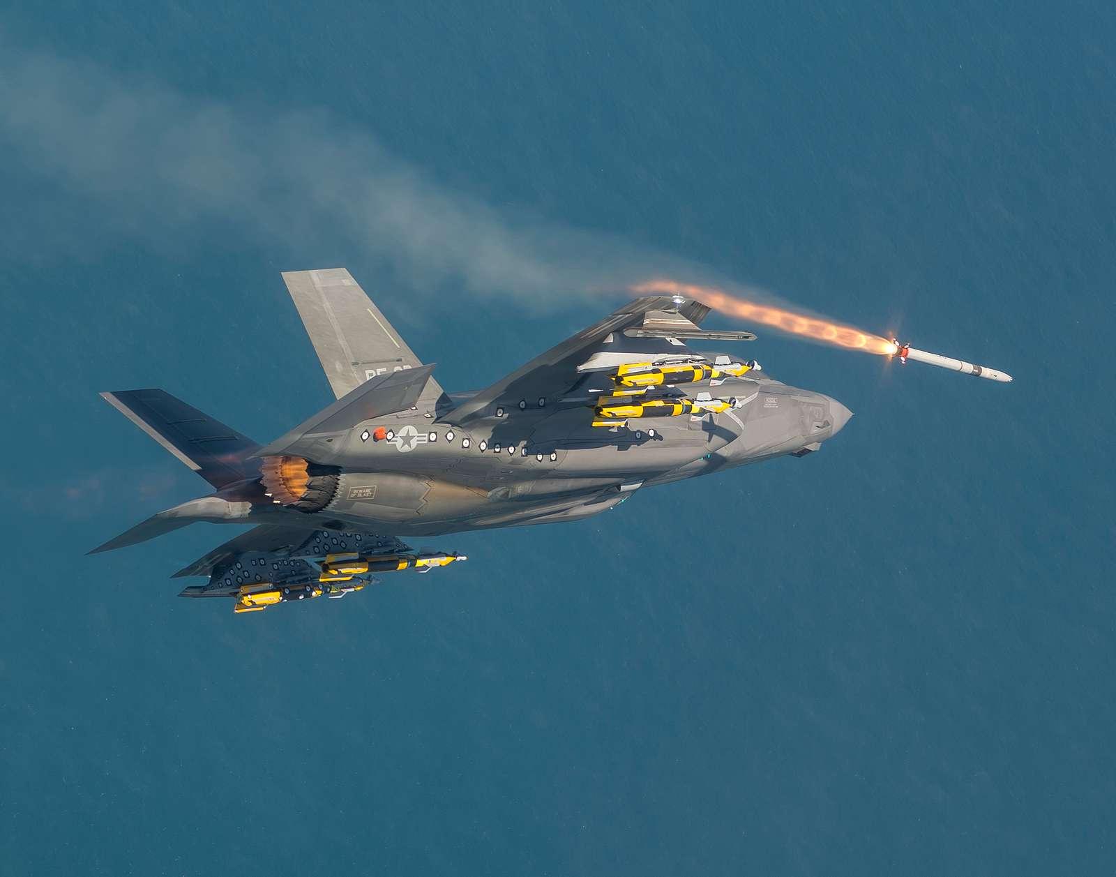 F-35B ASRAAM Live Fire