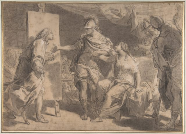 Alexander the Great Offering His Concubine Campaspe to the Painter Apelles