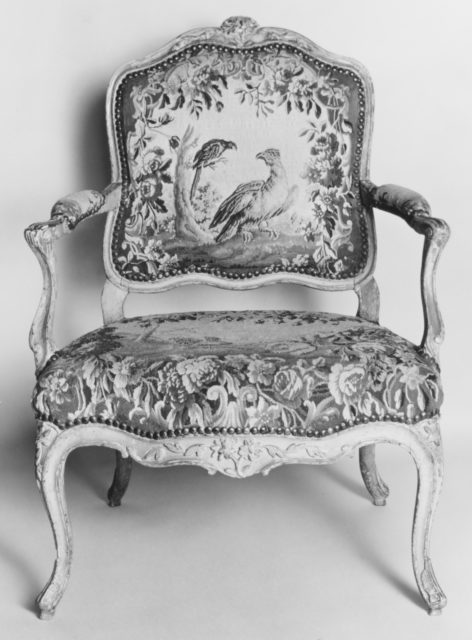 Armchair (part of a set of nine)