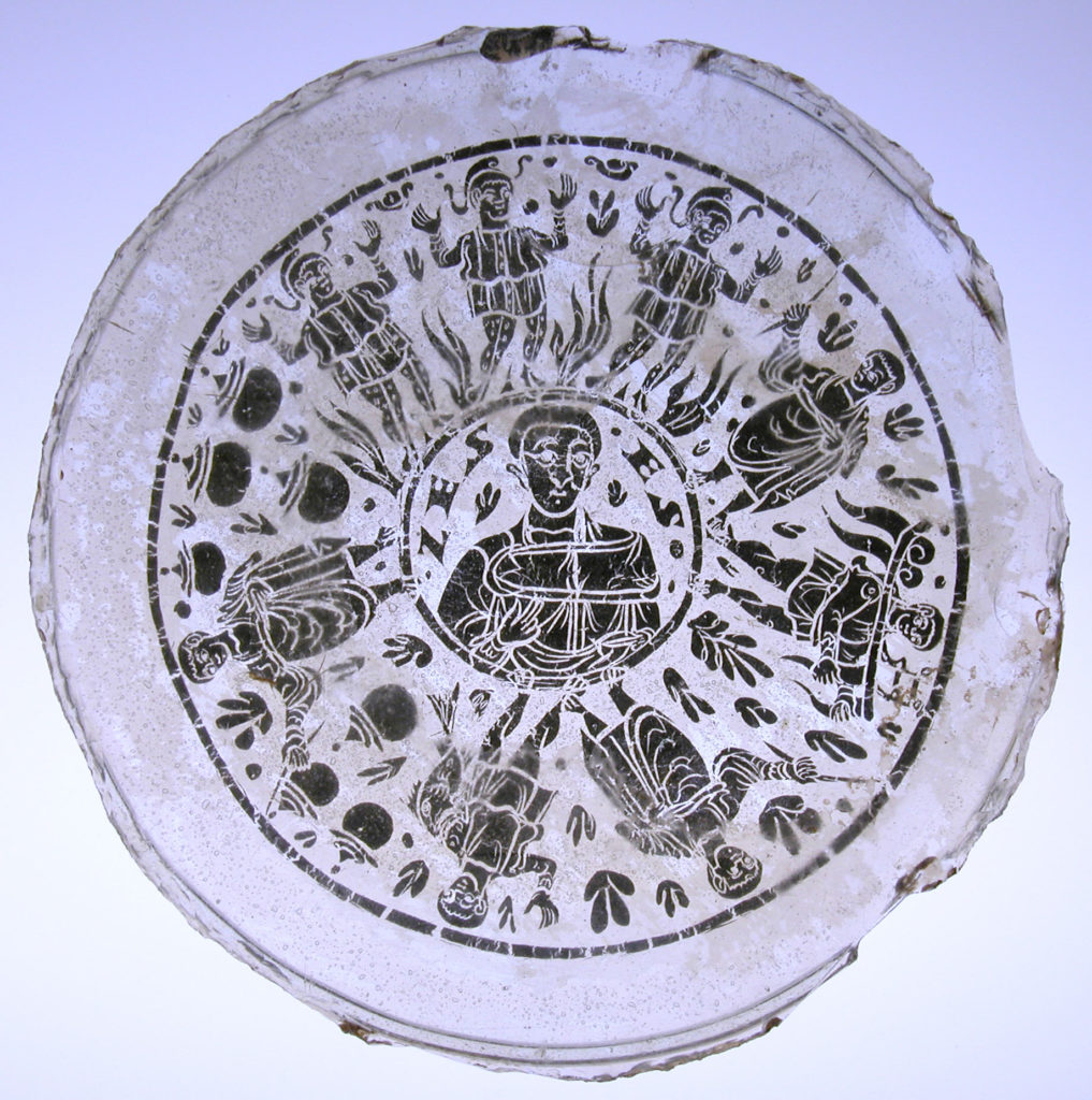 Bowl Base with Miracle Scenes