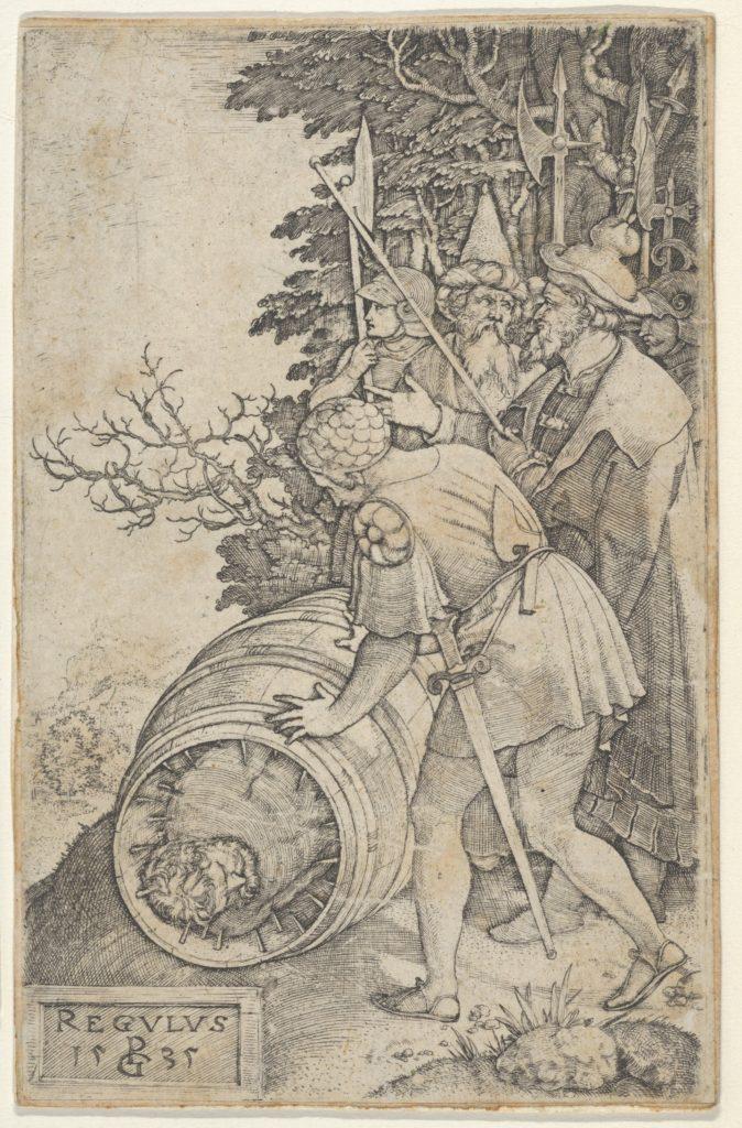 Copy of Attilius Regulus, from Roman Heroes