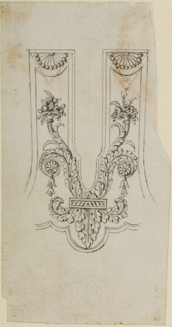 Design for the Decoration of the Barrel Tang Surround of a Firearm