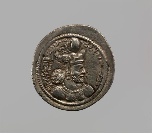 Drachm of Bahram IV