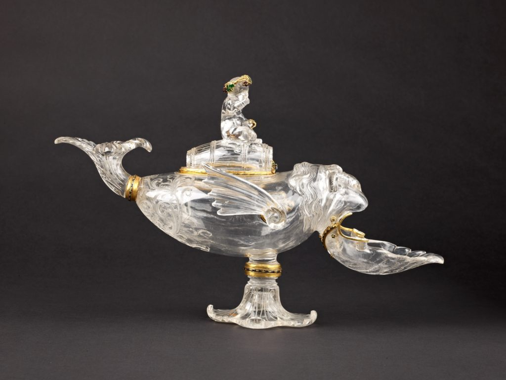 """""""Ewer"""" in the Form of a Sea Monster Ridden by Bacchus"""