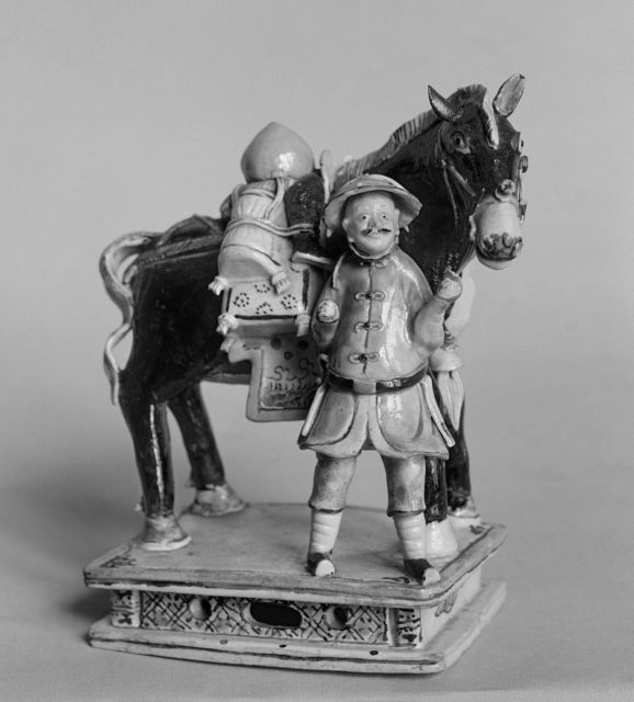 Figure of a Pack of Horse and Attendant