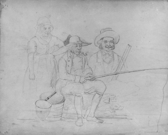 Fishing (from McGuire Scrapbook)