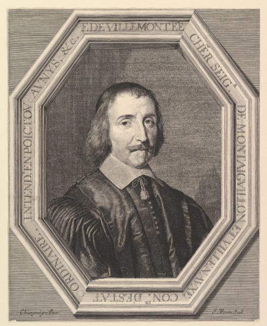 Francois de Villemontee, conseiller d'etat ordinaire